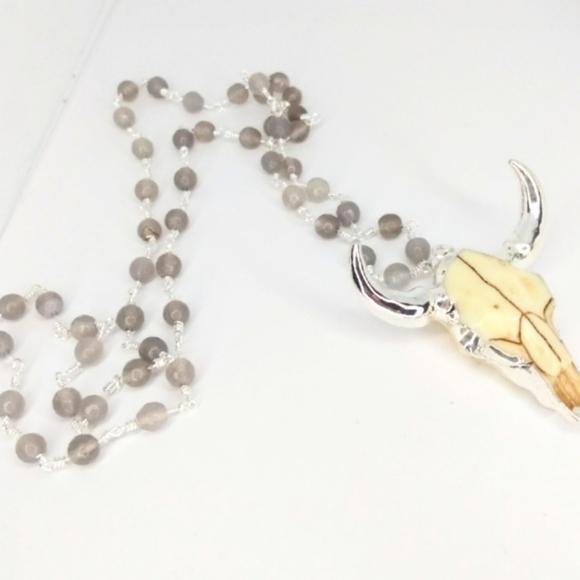 Jewelry - Boho Longhorn Necklace